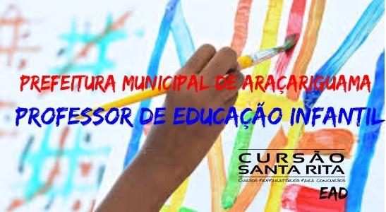Prefeitura Municipal de Araçariguama: Professor de Educação Infantil