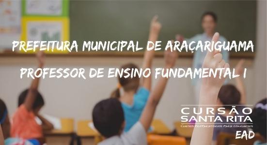 Prefeitura Municipal de Araçariguama: Professor de Ensino Fundamental I