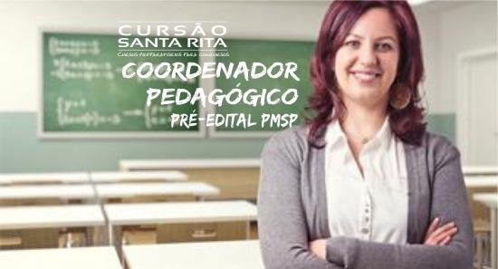 Coordenador Pedagógico PMSP - Pré-edital