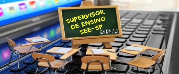 Supervisor de Ensino SEE/SP Pós edital