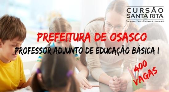 Prefeitura de Osasco - Professor Adjunto de Educação Basica I