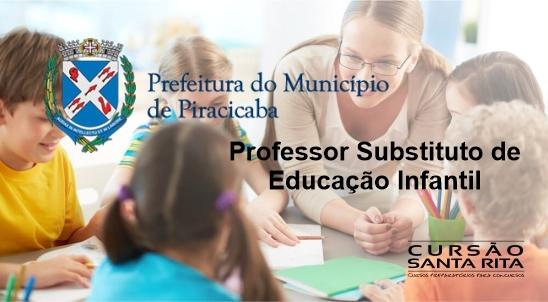 Prefeitura de Piracicaba - Professor Substituto de Educação Infantil