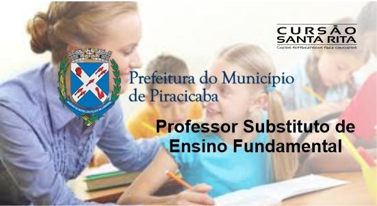 Prefeitura de Piracicaba - Professor Substituto de Ensino Fundamental