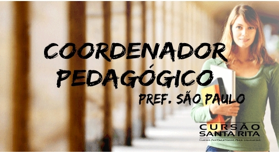 Coordenador Pedagógico PMSP - Presencial (2019)