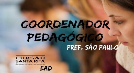 Coordenador Pedagógico PMSP - EAD (2019)
