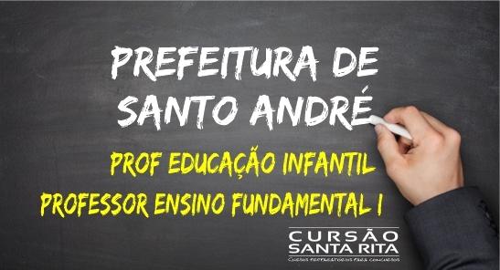 Prefeitura de Santo André - Professor Educação Infantil e Fundamental I