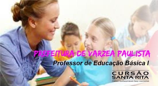 Prefeitura de Várzea Paulista: Professor de Educação Básica – Ensino Fundamental