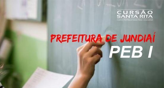 Prefeitura de Jundiaí/SP - Professor de Educação Básica I