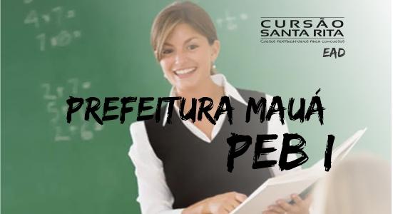 Pref. Mauá - Professor de Educação Básica I (EAD)