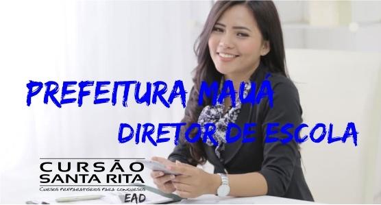 Pref. Mauá - Diretor de Escola (EAD)