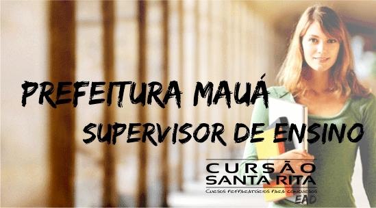 Pref. Mauá - Supervisor de Ensino (EAD)