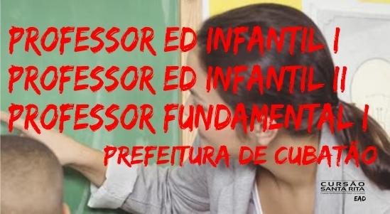 Prefeitura de Cubatão - Professor Educação Infantil I/II e Professor Fundamental I