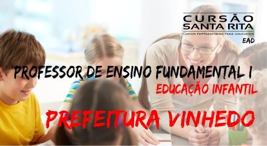 Pref. de Vinhedo: Profº. de Ensino Fund. I - PEB I - EI (Ensino Infantil)